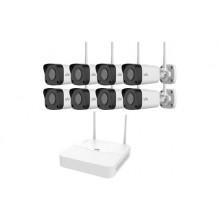 KIT/NVR301-08LS2-W/8*IPC2122LR3-F40W-E комплект видеонаблюдения WiFi